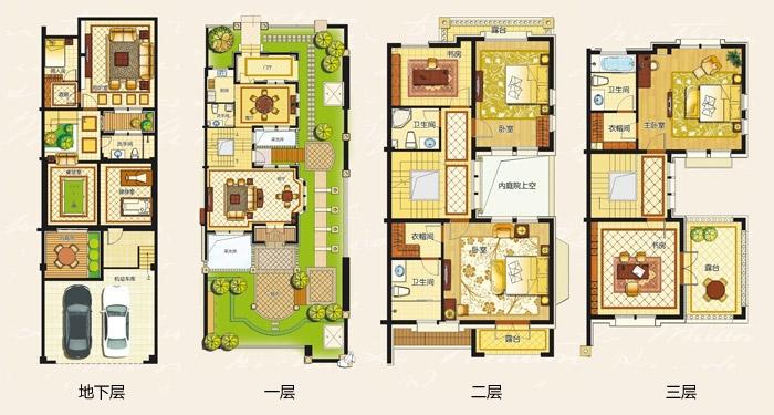 东方木业城平面图