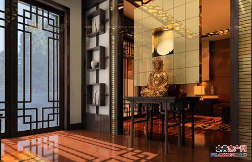 室内装饰多元素现代简约受青睐之现代中式