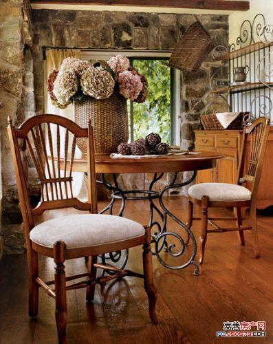 浪漫随性法国乡村小屋 给你异国风情享受